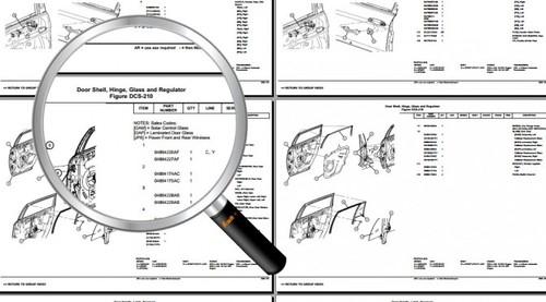 2002-2005 Dodge Chrysler E-Fiche Service Parts Catalog
