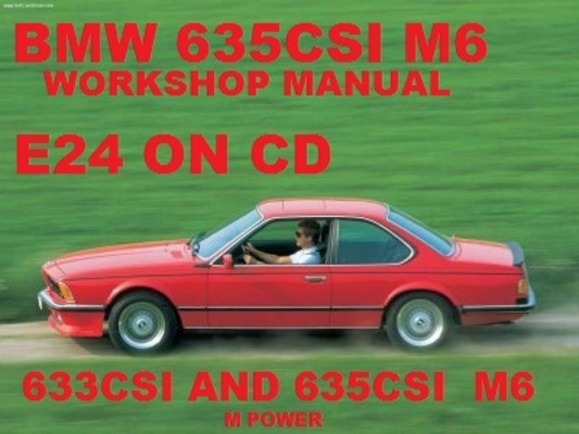 Bmw E24 633csi Electrical Troubleshooting Manual 83