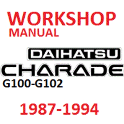 charade manuals Daihatsu Bego daihatsu charade cb23 workshop manual download free
