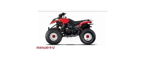 POLARIS Predator 50 90 Sportsman Service Repair Manual