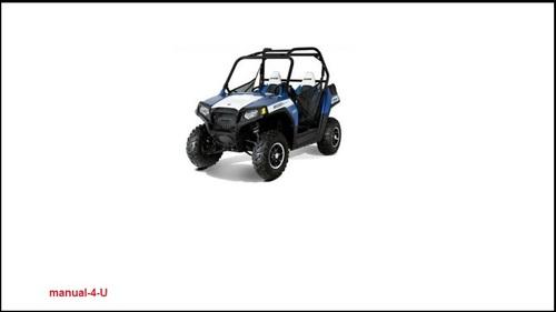 Free 2013 Polaris Ranger RZR 800 RZR-S RZR-4 UTV Service