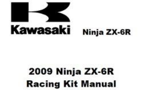 Free 1992 Kawasaki ZXR 750 Racing Kit Workshop Service