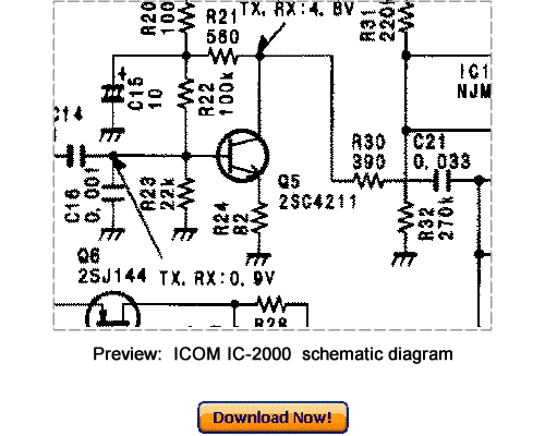 Download ICOM IC-2000 IC-2000H Service Repair Manual