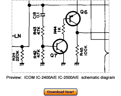 Download ICOM IC-2400A IC-2400E IC-2500A IC-2500E Service