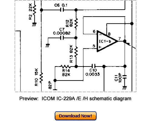 Download ICOM IC-229A IC-229E IC-229H Service Repair