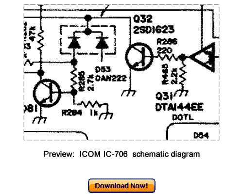 Free Icom IC A200 Service Manual / Guide Download