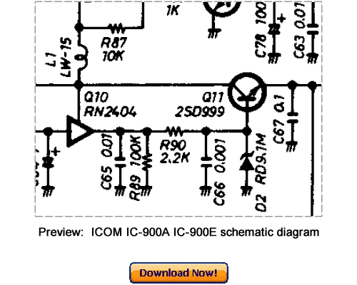 Download ICOM IC-900A IC-900E Service Repair Manual