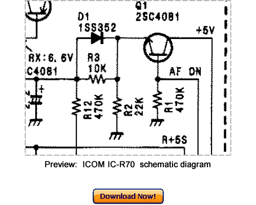 Free ICOM IC-R6 Service Repair Manual Download Download