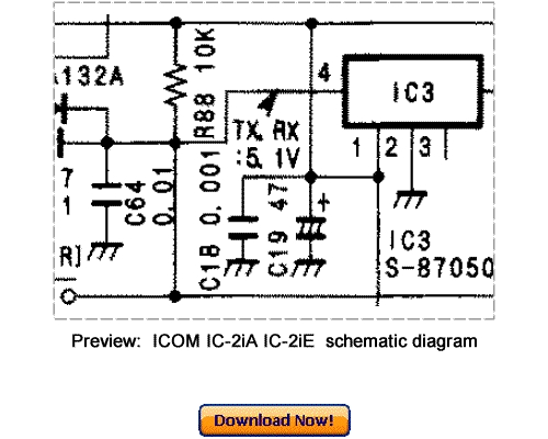 Download ICOM IC-2iA IC-2iE Service Repair Manual
