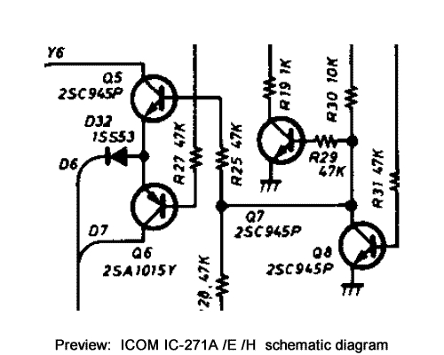 Download ICOM IC-271A IC-271E IC-271H Service Repair
