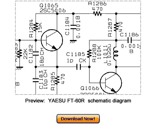 Download VERTEX YAESU FT-60R Service Repair Manual