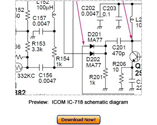 ICOM IC-718 Service Repair Manual Download (Updated 2010
