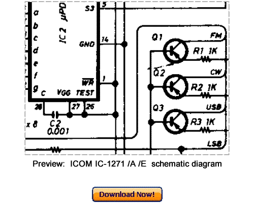 Download ICOM ICOM IC-1271A IC-1271E Service Repair Manual