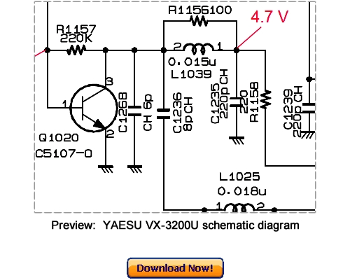 Download VERTEX YAESU VX-3200U Service Repair Manual