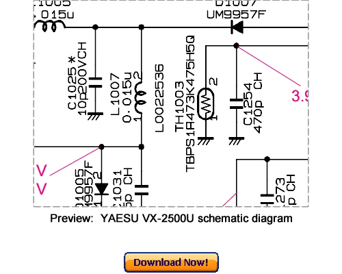 Free Download VERTEX YAESU VX-7R Repair Service Manual
