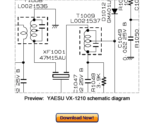 Free Download VERTEX YAESU VX-160U VX-180U Service Repair