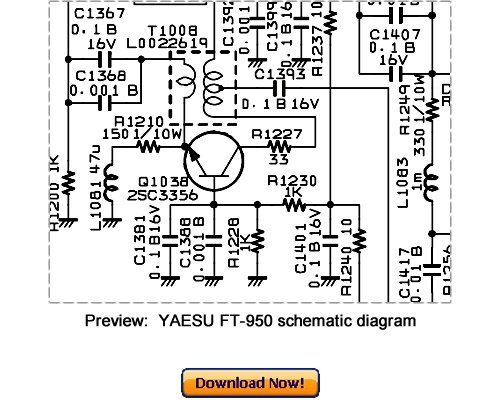 VERTEX YAESU FT-950 Service Repair Manual Download