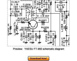 VERTEX YAESU FT950 Service Repair Manual Download