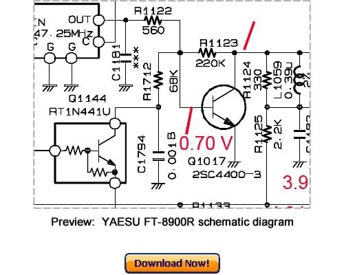 Download VERTEX YAESU FT-8900R Service Repair Manual