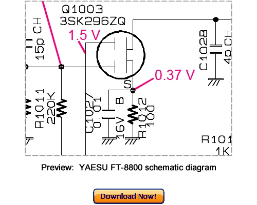 Download VERTEX YAESU FT-8800 Service Repair Manual