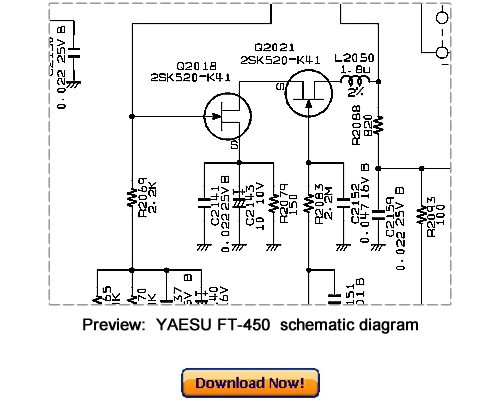 Download VERTEX YAESU FT-450 Service Repair Manual