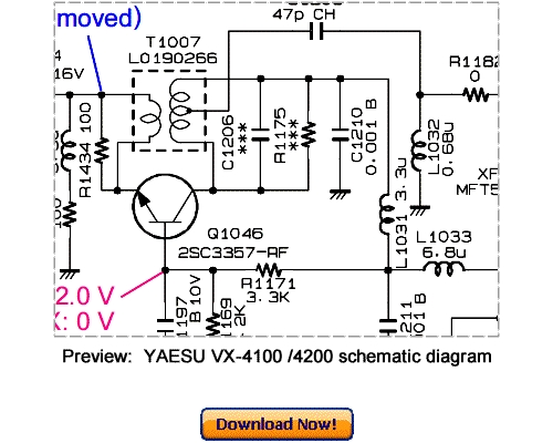 Download VERTEX YAESU VX-4100 VX-4200 Service Repair