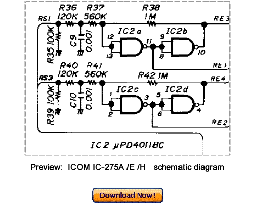 Download ICOM IC-275A IC-275E IC-275H Service Repair