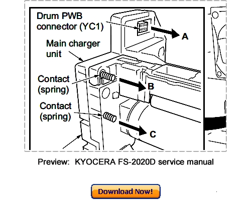 KYOCERA FS2020D 3920DN 4020DN Service Repair Manual