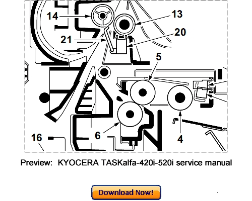 KYOCERA TASKalfa 420i 520i Service Repair Manual Download