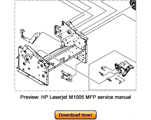 HP LaserJet M1005 MFP Service Repair Manual Download