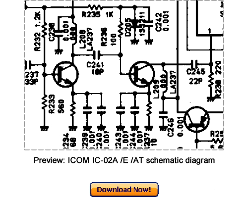 Download ICOM IC-02A, IC-02E, IC-02AT Service Repair