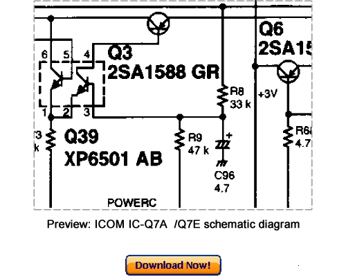 Download ICOM IC-Q7A, IC-Q7E Service Repair Manual