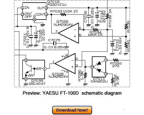 VERTEX YAESU FT-100D Service Repair Manual Download