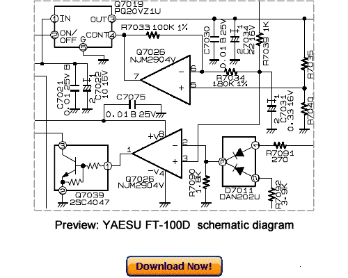 Free Download VERTEX YAESU FT-450 Service Repair Manual