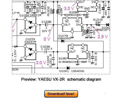VERTEX YAESU VX-2R Service Repair Manual Download