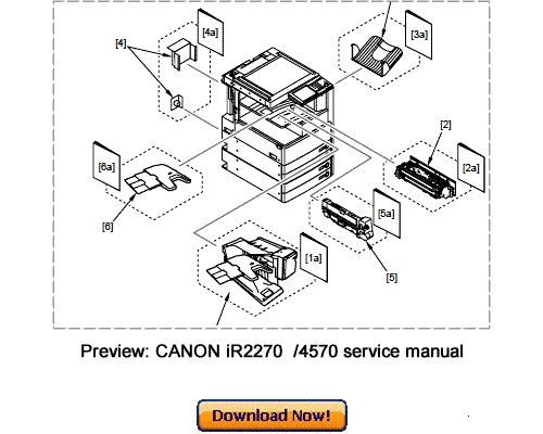 CANON iR4570 3570 2870 2270 Service Repair Manual Download