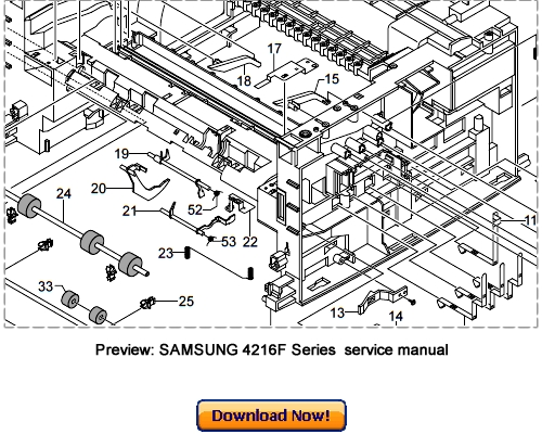 SAMSUNG SCX-4216F SCX-4116 SCX-4016 Service Repair Manual