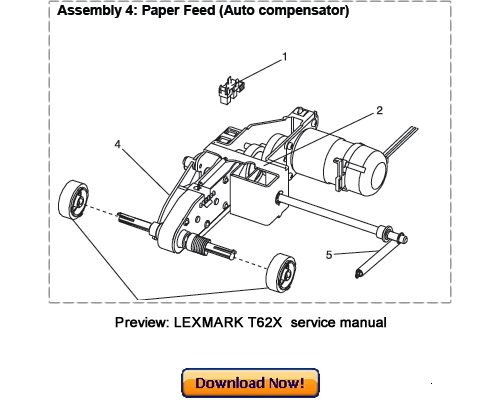 Free Lexmark – C510 (5021) Service Manual Download