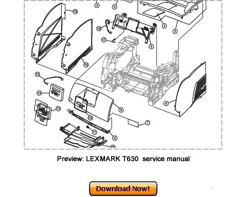 Lexmark T642 Service Manual Pdf : Lexmark T652 T654