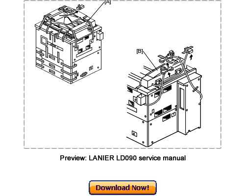 LANIER LD090 LD0105 Service Repair Manual Download