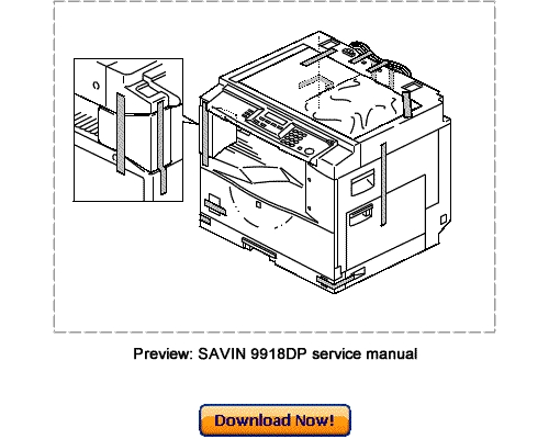 SAVIN 9918DP, SAVIN 2015DP Service Repair Manual Download