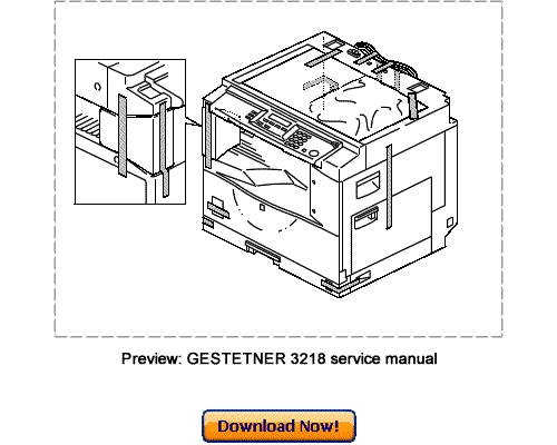 GESTETNER 3218,GESTETNER 3215S Service Repair Manual