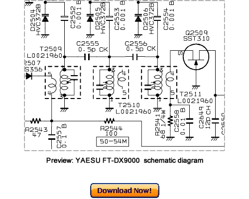 VERTEX YAESU FT DX 9000 series Service Repair Manual