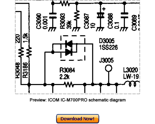 Free ICOM IC-80AD, IC-E80D Service Repair Manual Download