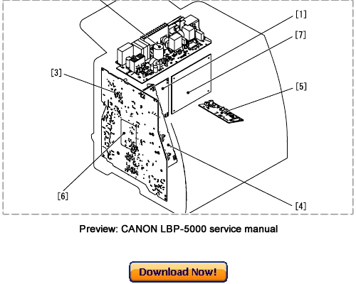 Canon LBP-5000 LBP-5100 Service Repair Manual Download
