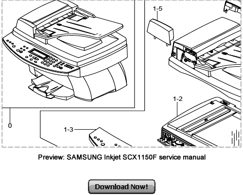 SAMSUNG SCX-1150F Service Repair Manual Download
