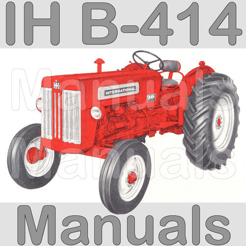 international tractor 674 wiring diagram rv automatic transfer switch ih harvester b414 b 414 service manual part pay for parts catalog