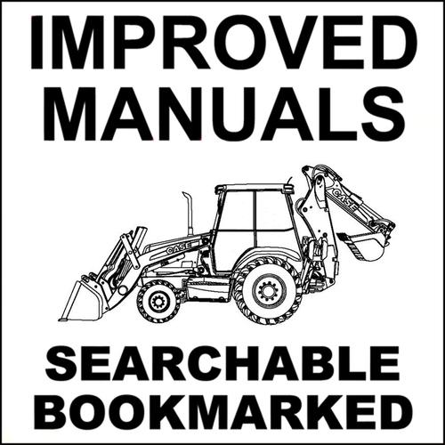 Case 480D & 480LL Backhoe Loader Service Repair Manual