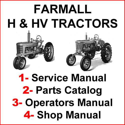 International Harvester Tractor Parts Used