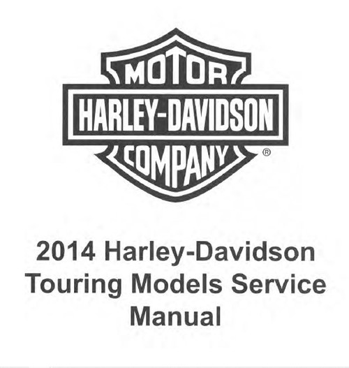 Harley Davidson 2014 Touring Service, Diagnostics & Repair